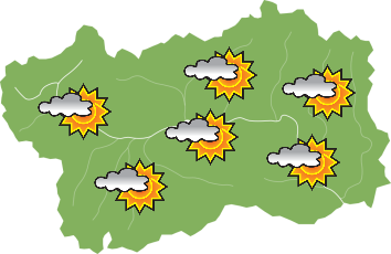 Meteo in Valle d'Aosta