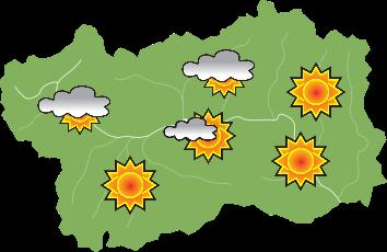 previsioni meteo per oggi